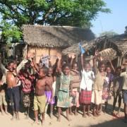Local children from Ivatamavarina Village