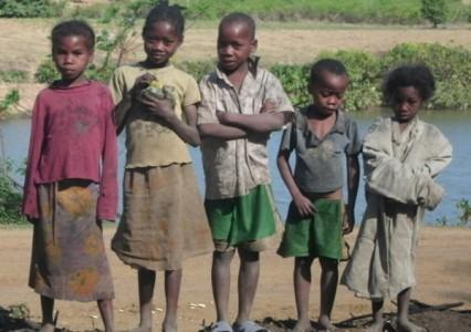 Local Malagasy Children